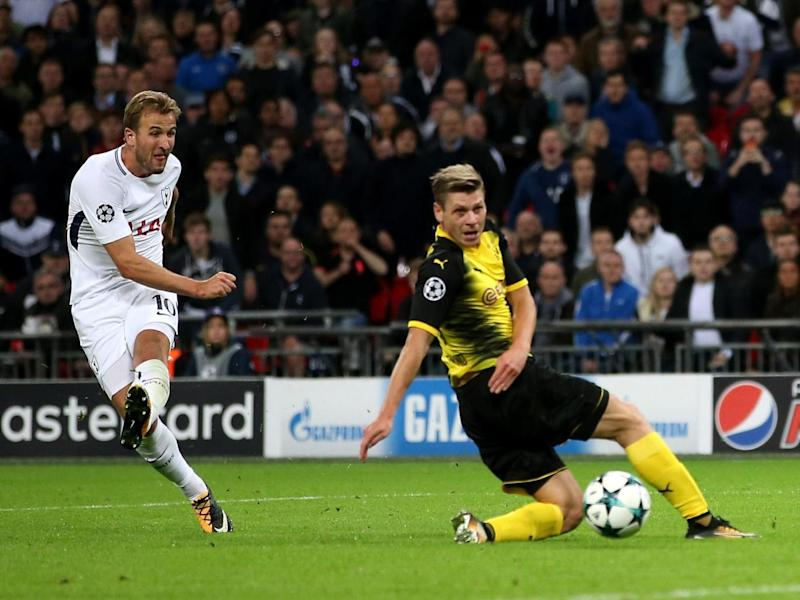 Kane scored twice as Tottenham saw off Dortmund (Tottenham Hotspur FC via Getty)