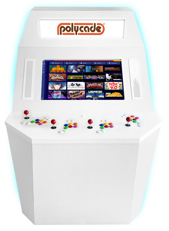 The son of Atari founder Nolan Bushnell is also resurrecting games of yesteryear into new hardware cabinets. Tyler Bushnell's Polycade is available in a few different configurations, including the top-of-the-line four-player Polycade Squadcade for residential or commercial use – but it comes with a hefty $5,999 price tag.