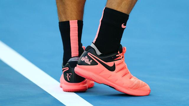 Some of the world's best tennis players, including Roger Federer and Rafael Nadal, are dressed head-to-toe pink at the Australian Open.