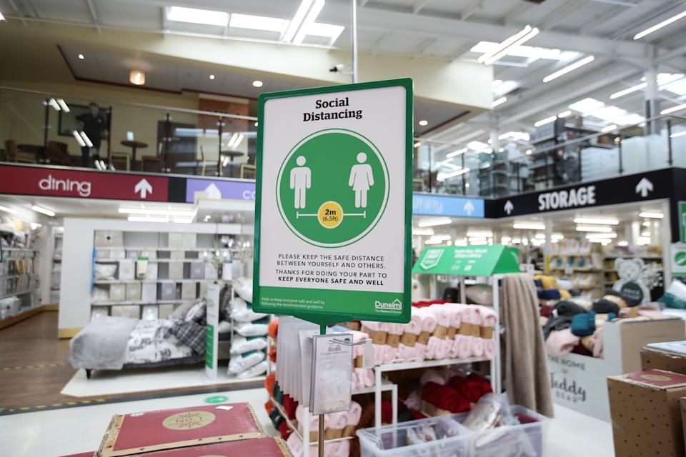A Dunelm store in St Albans, Britain. Photo: Peter Cziborra/Reuters