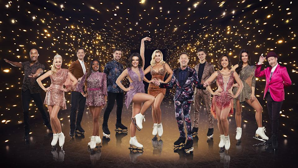 Several of this year's Dancing on Ice stars had to drop out of the show. (ITV)