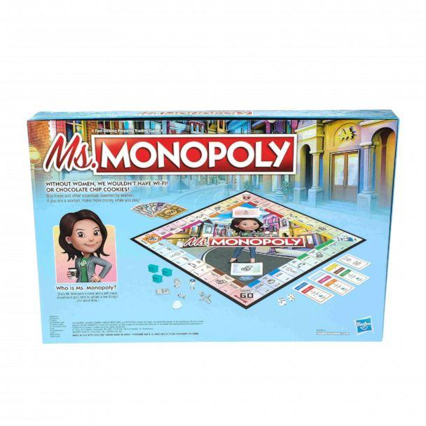 PHOTO: The board game, titled 'Ms. Monopoly,' celebrates inventors and aims to invest in these inspiring women across the globe.<p>(Hasbro)