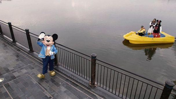 PHOTO: ABC News' Ginger Zee and Disney super fan Patrice Jenkins visit Shanghai Disneyland. (ABC News)