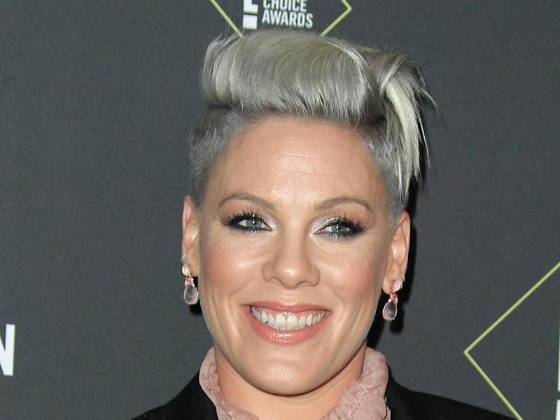 Pink praises 'brave' dad as he has back surgery while undergoing cancer treatment