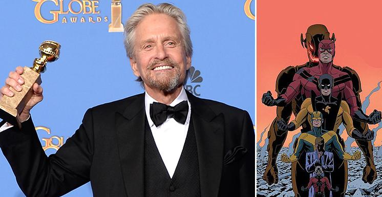 Michael Douglas to play Hank Pym