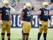 Notre Dame's Best Recruiting Classes Along The Offensive Line