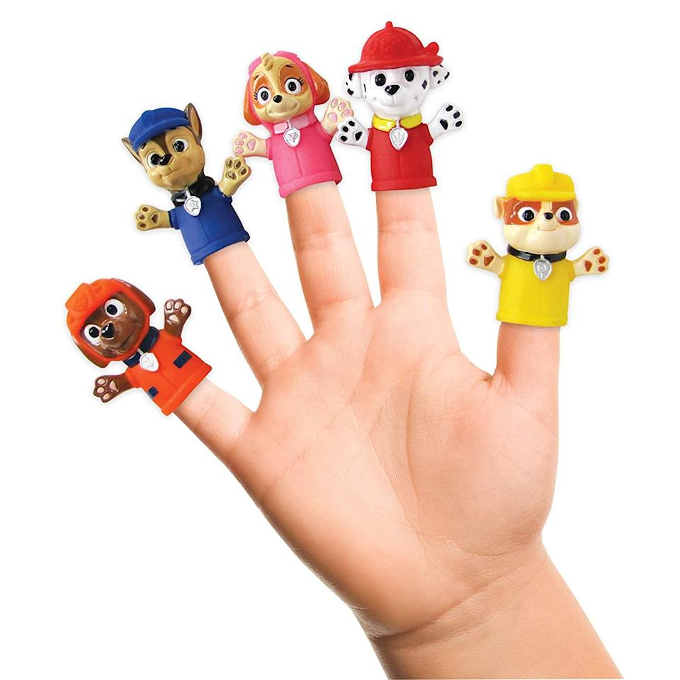 paw patrol finger puppets, best stocking stuffers of 2021