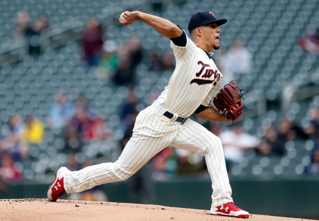 Jose Berrios was untouchable Thursday (AP)