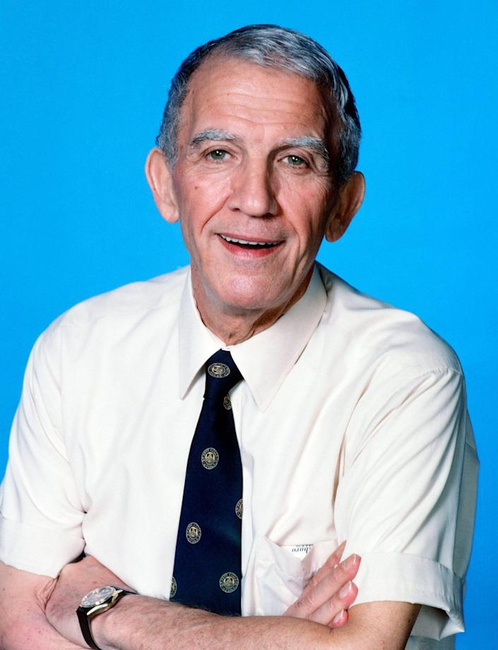 <p>For his endearing performance as the loveably clueless Coach on <em>Cheers</em>, Colasanto received three consecutive Emmy nominations for supporting actor in a comedy series. The final nomination, in 1985, came months after his death. The award ultimately went to John Larroquette for <em>Night Court.</em></p>