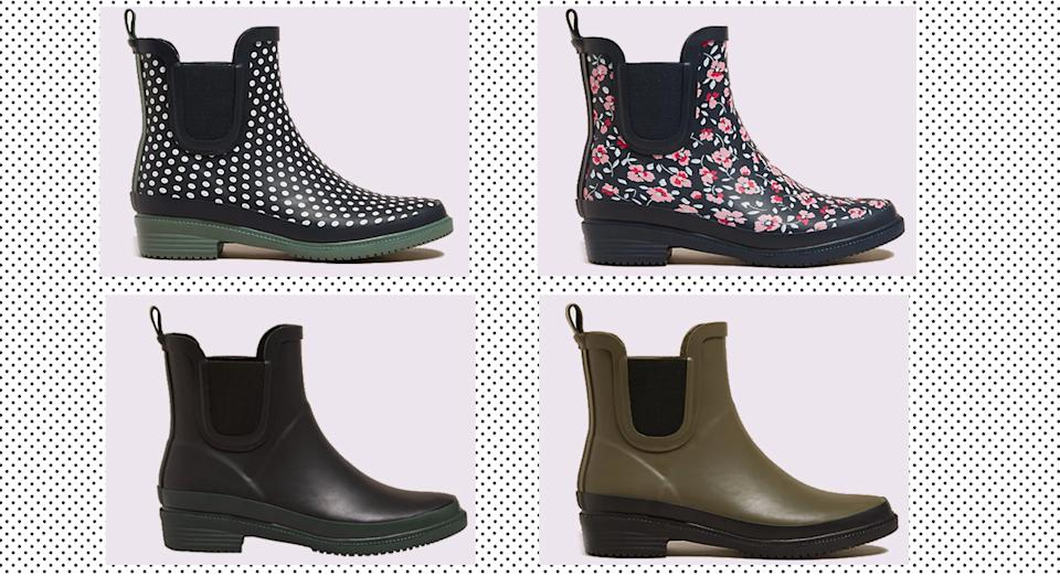 In need of a new pair of wellies? M&S have just released a great affordable option. (Marks & Spencer)