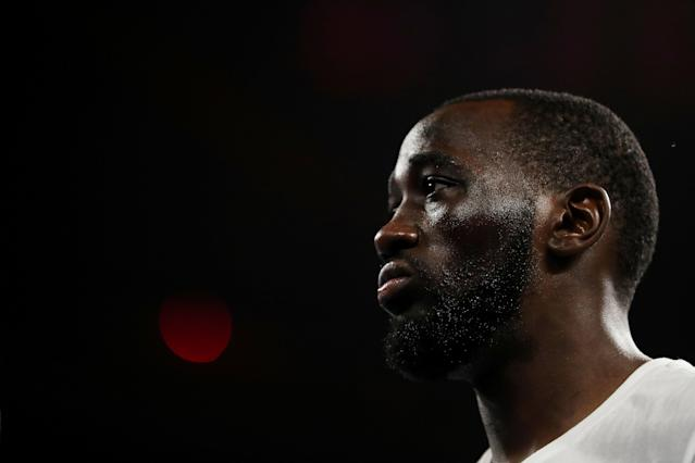 Terence Crawford scoffs at the notion that promotional differences make big fights hard to make. (Al Bello/Getty Images)