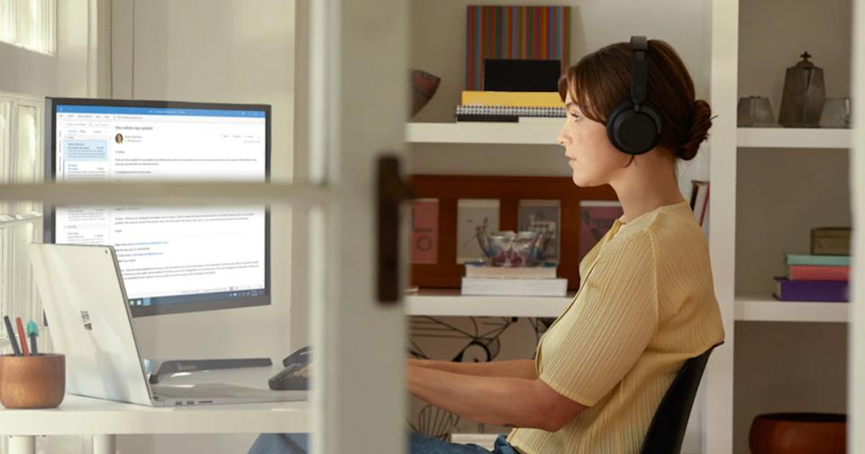 The Microsoft Surface Headphones 2 are on sale for 40% off during Amazon's Deal of the Day (Image via Microsoft).