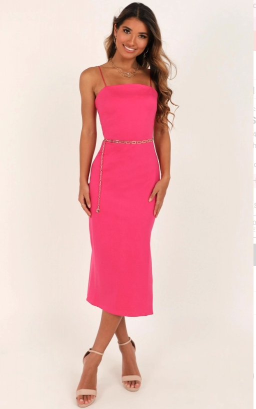 Showpo All For Fun Dress In Hot Pink - $53.95