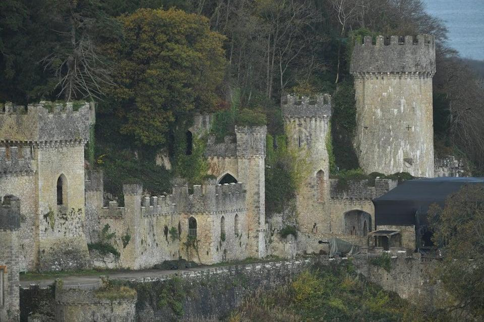 Gwrych Castle in Abergele, North Wales (PA)