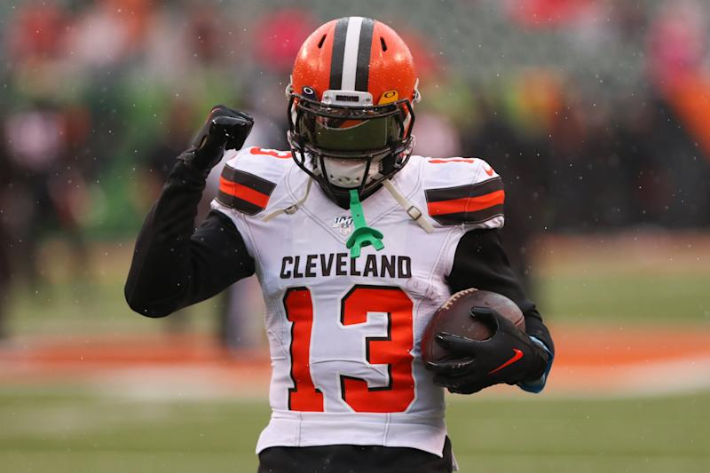 Cleveland Browns wide receiver Odell Beckham Jr. (13)