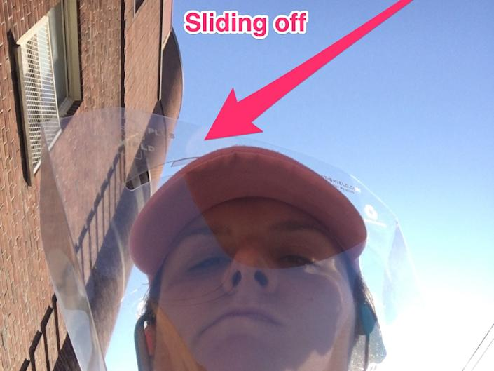 face shield slides_off_when_running_SKITCH