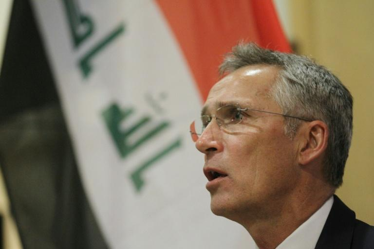 NATO Secretary General Jens Stoltenberg on a visit to Baghdad where he made his first comments on the weekend strikes on two major Saudi oil facilities