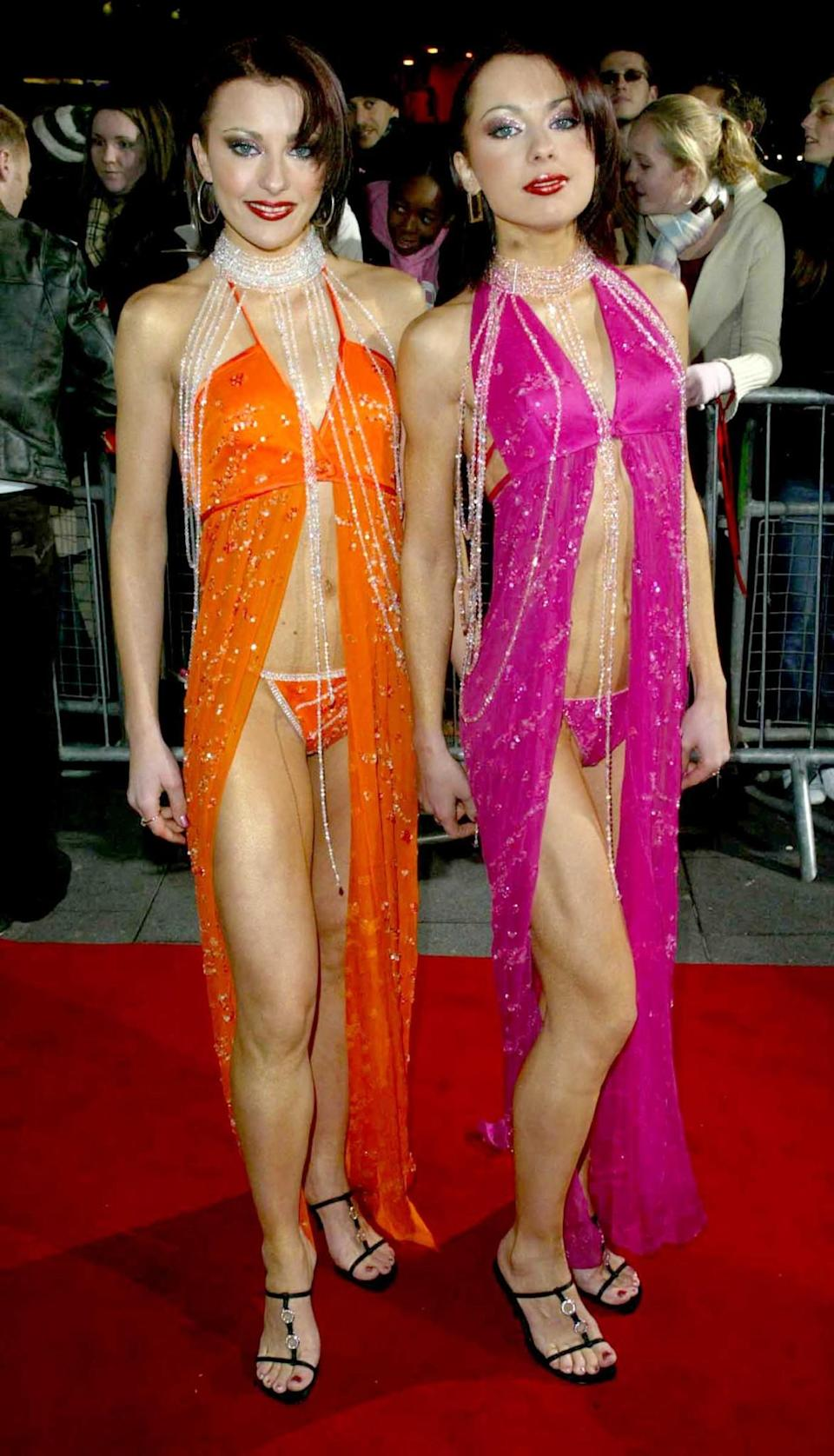 <p>Then: It's been over a decade, but The Cheeky Girls song is still engrained in our memory. The singing twin sisters shot to fame after auditioning for Popstars: The Rivals and had numerous top 10 hits throughout the early 2000's. [Photo: Getty] </p>
