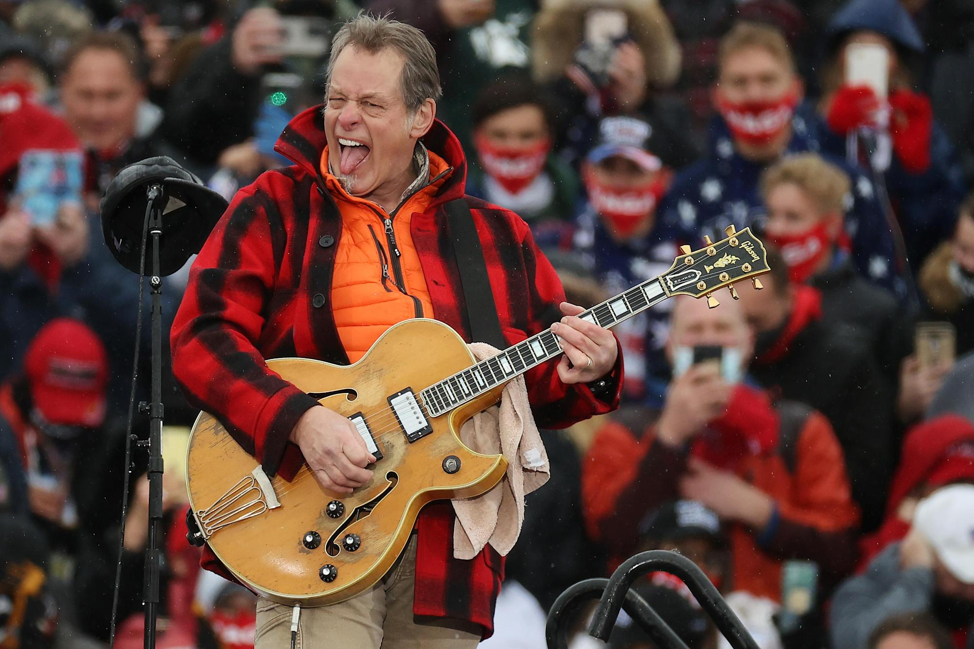 Ted Nugent Wants to Know Where the Shutdowns Were for COVID-1 Through COVID-18 — No, Really - Yahoo Entertainment