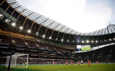 General view of the tottenham stadium - Credit: Reuters