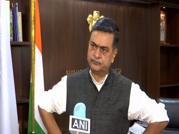 Union Power Minister RK Singh speaking to ANI in New Delhi on Thursday. [Photo/ANI]