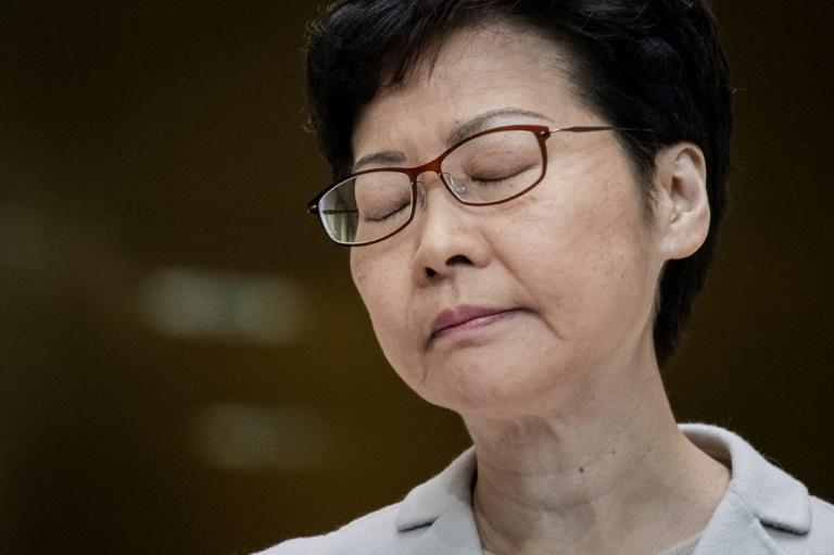 The result -- the first vote held since protests engulfed the city -- was a humiliating rebuke to Beijing and Lam