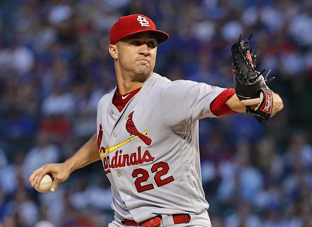 Jack Flaherty figures to be a big part of the Cardinals' October hopes. (Photo by Jonathan Daniel/Getty Images)