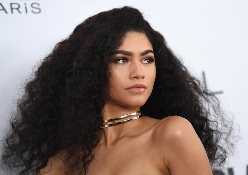 Zendaya will portray Anita Hemmings, who passed as white to get access to educational opportunities in the late 1800s. (Angela Weiss/AFP/Getty Images)