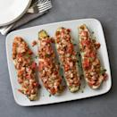 <p>Swap vegetables for noodles in this healthy lasagna-inspired recipe. Stuffing zucchini boats with chicken sausage, tomato, ricotta and herbs gives you all the flavors of lasagna without all the carbs.</p>