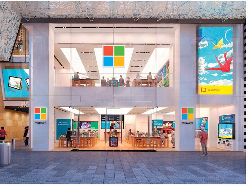 Microsoft may open its retail store in London