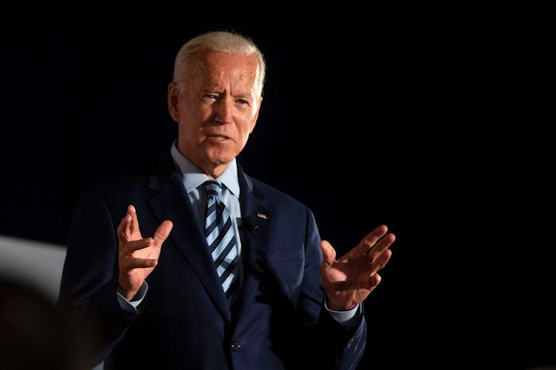 Biden says Trump 'fanned the flames of white supremacy'; Trump tweets back that Biden is 'boring'