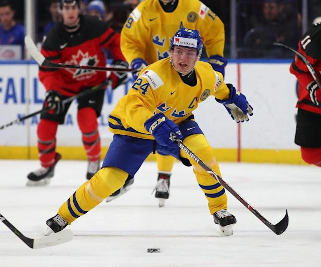 Lias Andersson knows that if you're not first you're last. (Getty Images)