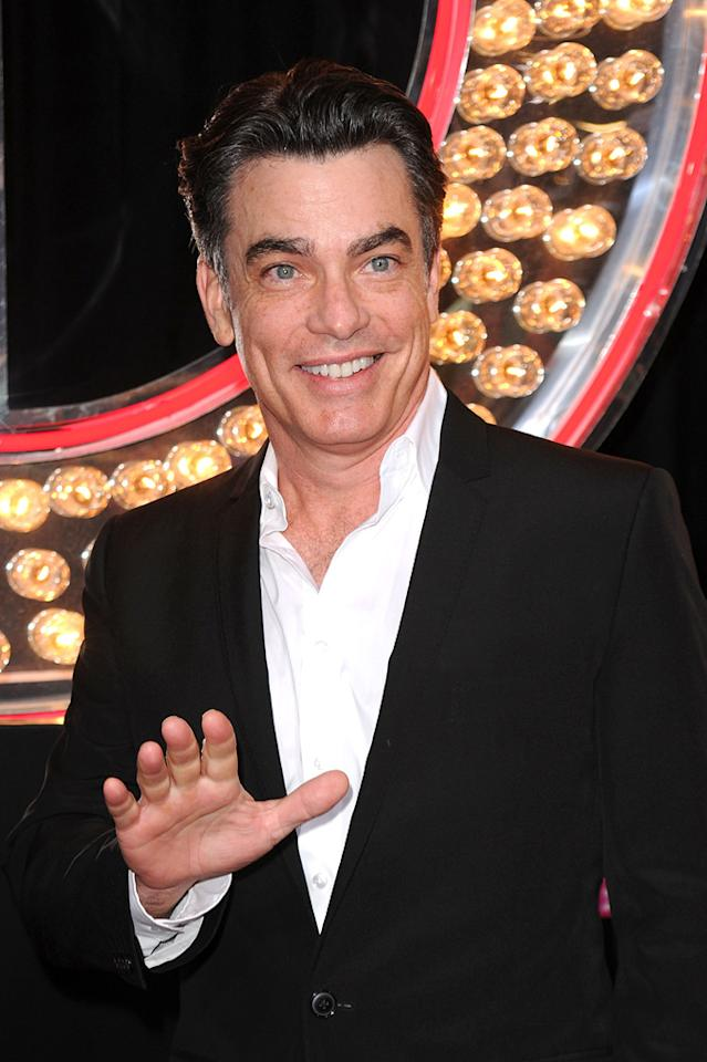 """<a href=""""http://movies.yahoo.com/movie/contributor/1800018628"""">Peter Gallagher</a> at the Los Angeles premiere of <a href=""""http://movies.yahoo.com/movie/1810125282/info"""">Burlesque</a> on November 15, 2010."""
