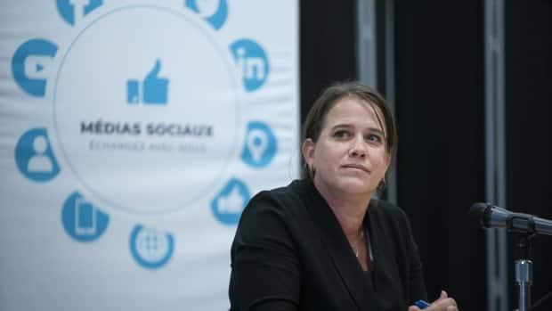 Dr. Mylène Drouin, Montreal's public health director, is reminding people that indoor private gatherings are not allowed, even if gyms and restaurant dining rooms are set to reopen.  (Ivanoh Demers/Radio-Canada - image credit)