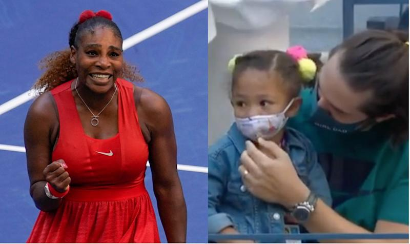 Serena Williams' Reaction To Seeing Daughter At U.S. Open Is So Pure
