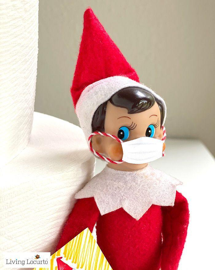 """<p>When it comes to 2021 Elf on the Shelf ideas, this one simply takes the cake. </p><p><strong>Get the tutorial at <a href=""""https://www.livinglocurto.com/elf-coloring-pages-face-mask/"""" rel=""""nofollow noopener"""" target=""""_blank"""" data-ylk=""""slk:Living Locurto"""" class=""""link rapid-noclick-resp"""">Living Locurto</a>.</strong> </p>"""