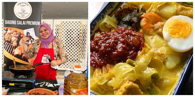 Nur Hayati of popular Instagram cooking page Yatie Kitchen was kind enough to share some lontong with an expectant mum. — Picture from Instagram/Yatie Kitchen
