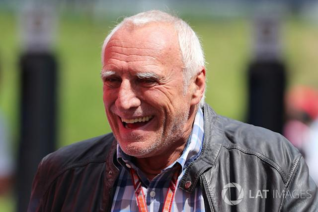 "Dietrich Mateschitz, CEO e fondatore della Red Bull <span class=""copyright"">Jerry Andre / Motorsport Images</span>"