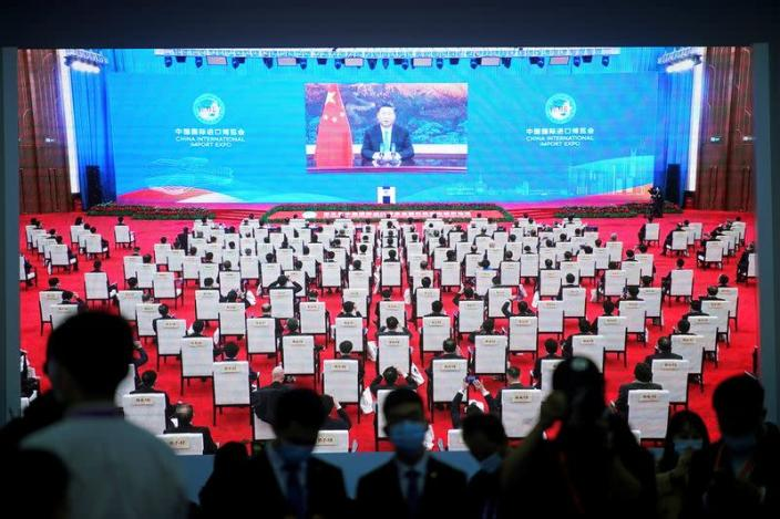 Opening ceremony of 3rd China International Import Expo (CIIE) in Shanghai