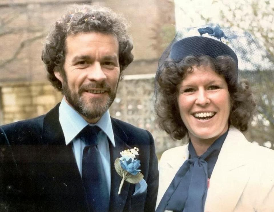 Barbie and Graham have been married for 40 years but are only celebrating their 10th wedding anniversary (SWNS)