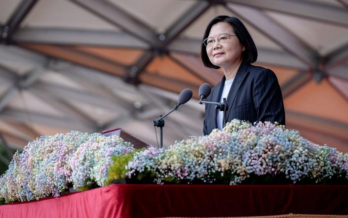 "President Tsai Ing-wen urged China to enter a ""meaningful dialogue"" - EPA-EFE/Shutterstock"