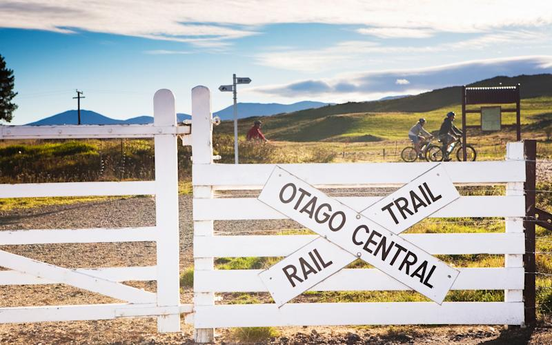 The Otago Central Rail was given a new lease of life as a walking and hiking route - Matthew Micah Wright