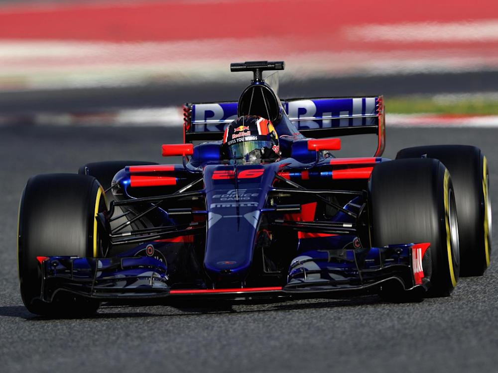 Kvyat has kept his seat at Toro Rosso for 2017 (Getty)