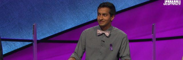 Jeopardy Contestant Dhruv Gaur Surprises Alex Trebek With
