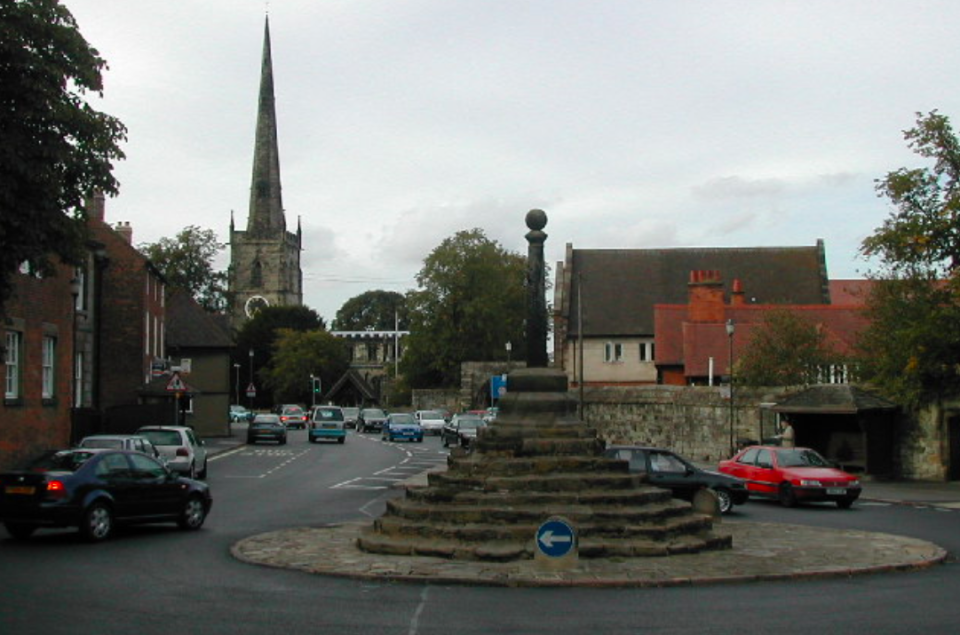 <em>The discoveries were made in the small village of Repton (Geograph)</em>