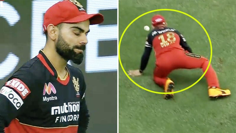 Virat Kohli, pictured here in action in the Indian Premier League.
