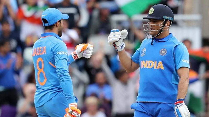 MS Dhoni and Jadeja gave Indian fans hope against New Zealand in the 2019 WC semi-final