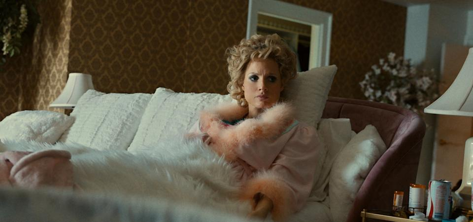 Chastain as Tammy Faye Bakker in 'The Eyes of Tammy Faye' (Photo: Courtesy of Searchlight Pictures/20th Century Studios)