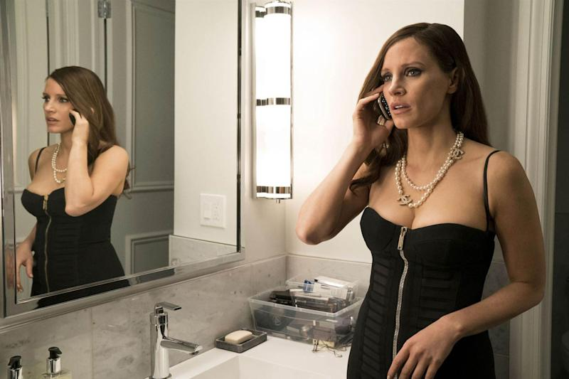 Top of her game: Jessica Chastain: Rex Features