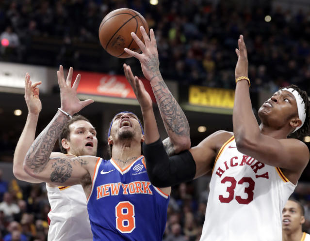 "<a class=""link rapid-noclick-resp"" href=""/nba/players/4388/"" data-ylk=""slk:Michael Beasley"">Michael Beasley</a>'s fantasy value has never been higher and a look around the rest of the league (AP Photo)."